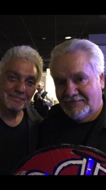 With Steve Gadd at Rochester Music Hall of Fame 2018!